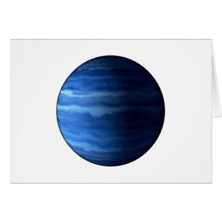 PLANET URANUS v2 (solar system) ~~.png Greeting Card