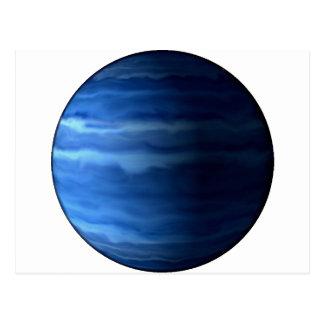 PLANET URANUS v2 (solar system) ~ Postcard