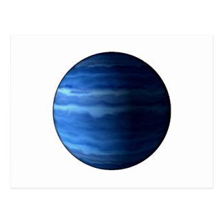 PLANET URANUS v2 (solar system) ~~ Postcard