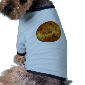 PLANET VENUS radar view (solar system) ~~~ Ringer Dog Shirt