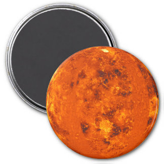 PLANET VENUS (solar system) ~ 7.5 Cm Round Magnet