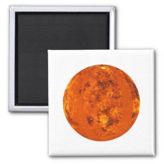PLANET VENUS (solar system) ~ Square Magnet