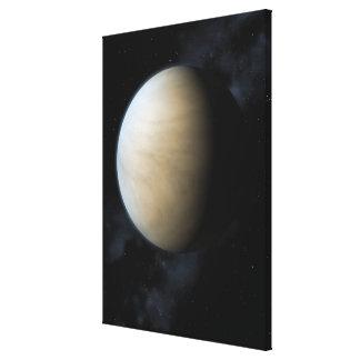 Planet Venus Stretched Canvas Prints
