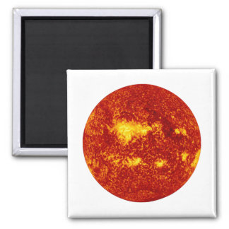 PLANET VENUS TRANSIT high definition  solor system Square Magnet