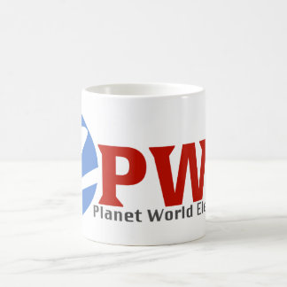 Planet World Electronics White Coffee Mug