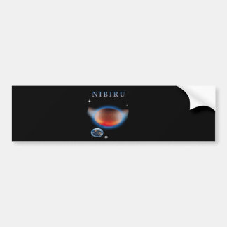Planet X Nibiru Bumper Sticker