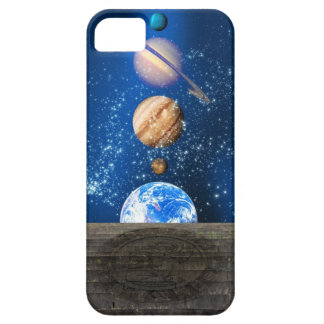Planetary alignment, computer artwork. iPhone 5 case