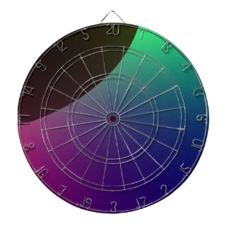 Planetary Aurora Dart Board
