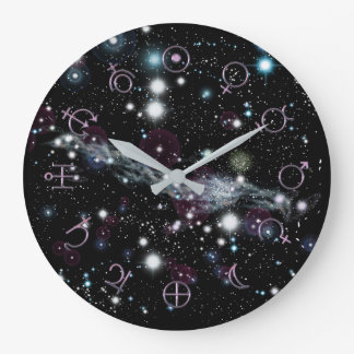 Planetary Glyphs Deep Space Astronomy Clock