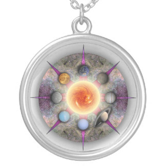 Planetary Mandala Necklace