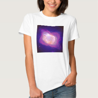 Planetary Nebula NGC 7027 in Infrared and Visible Tees
