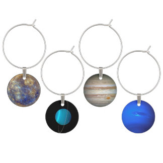 Planetary Wine Charms II