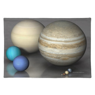 Planets 2 placemat