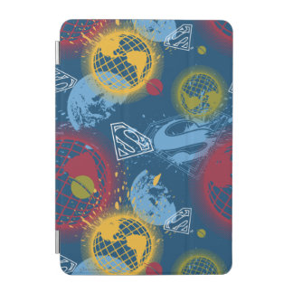 Planets and Logo Pattern iPad Mini Cover