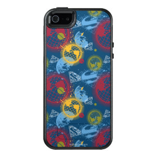 Planets and Logo Pattern OtterBox iPhone 5/5s/SE Case