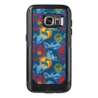 Planets and Logo Pattern OtterBox Samsung Galaxy S7 Case