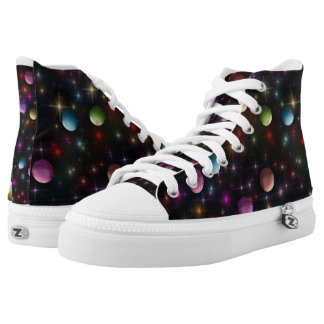 Planets And Stars High Tops