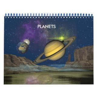 Planets Calendar