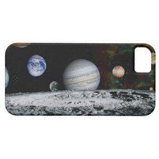Planets of the Solar System Barely There iPhone 5 Case