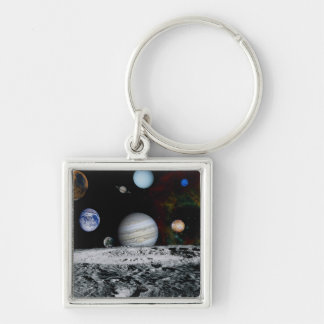 Planets of the Solar System Key Ring