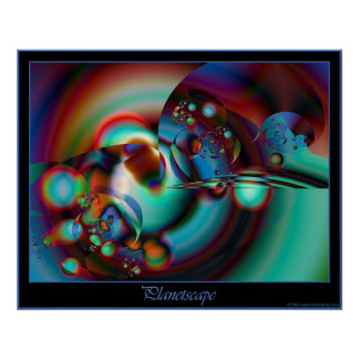Planetscape poster