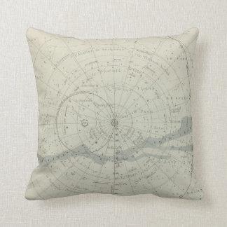 Planisphere Celeste Hemisphere Cushion