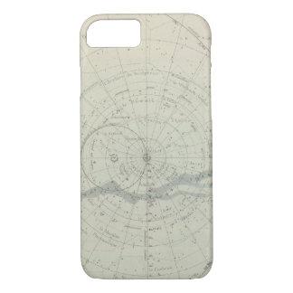 Planisphere Celeste Hemisphere iPhone 8/7 Case