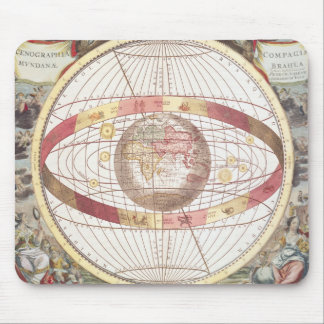 Planisphere, from 'Atlas Coelestis' Mouse Mat