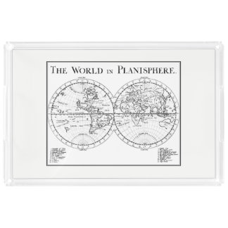 Planisphere Serving Tray