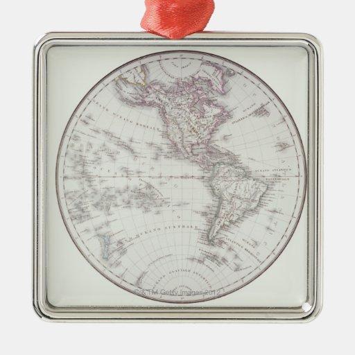 Planispheric Map Christmas Tree Ornaments