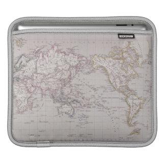 Planispheric Map of the World iPad Sleeve