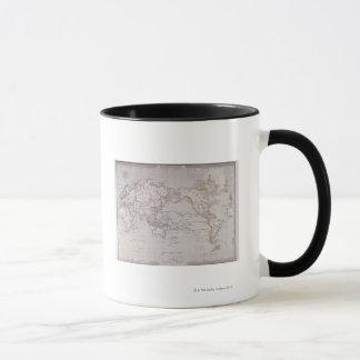 Planispheric Map of the World Mug