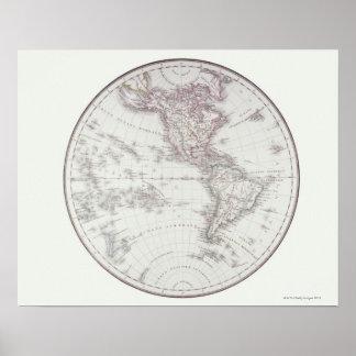Planispheric Map Poster