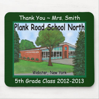 Plank North Mouse Pad
