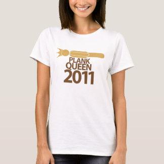 Planking Queen 2011 T-Shirt