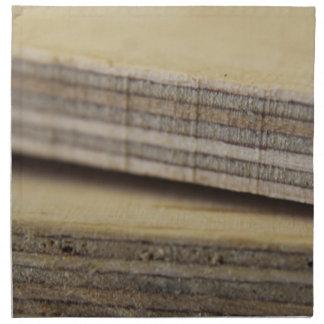planks of wood napkin