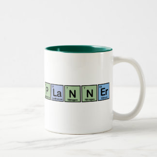 Planner made of Elements Two-Tone Coffee Mug