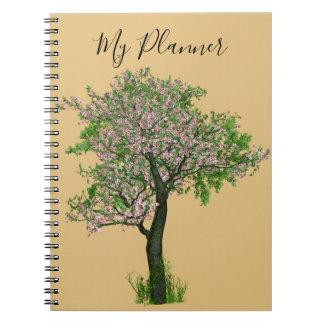 Planner tree cherry bare OM gold Notebooks