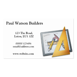 Planning Apparatus Buisness Card Pack Of Standard Business Cards
