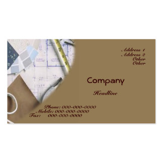Planning Business Card