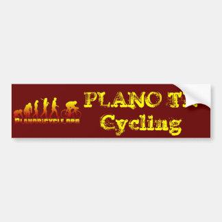 Plano Bicycle Association Firestarter Logo Bumper Sticker