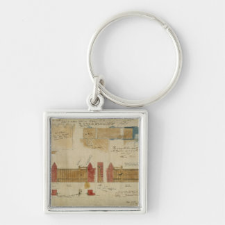 Plans and elevations for The Red House, Bexley Hea Key Ring