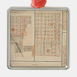 Plans of Atlantic, Osceola, Lewis Christmas Ornament