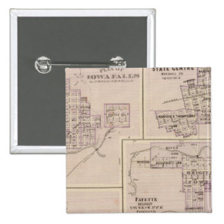 Plans of Cedar Falls 15 Cm Square Badge