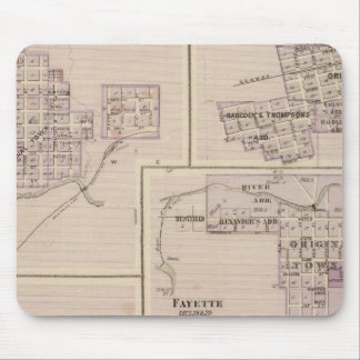 Plans of Cedar Falls Mouse Mat