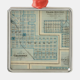 Plans of Chariton, Grand Junction Christmas Ornament