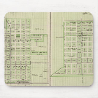 Plans of DeWitt, Tipton Mouse Mat