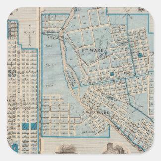 Plans of Fort Dodge, Humboldt Square Sticker