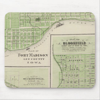 Plans of Fort Madison Mouse Pad