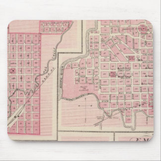 Plans of Glenwood, Denison, Hastings Mouse Mat
